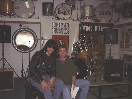 Donn and Marky Ramone