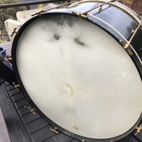 Ludwig 1930 Black Beauty Professional Drum Outfit.