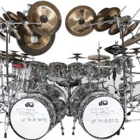 Terry Bozzio's DW/Sabian DW U.K. Drum Set