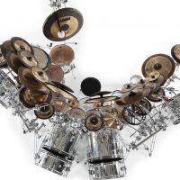 Terry Bozzio's DW/Sabian DW U.K. Drum Set