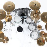 KISS Kruise Drum Set Pearl Zildjian