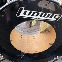 Georgia Satellites Mauro Magellan Ludwigs Black Drum Set