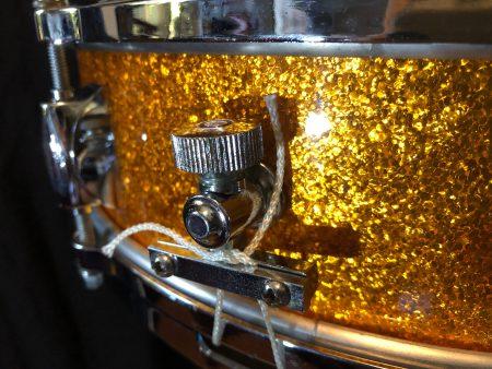 Gretsch Gold Sparkle Progressive Jazz Max Roach 4x14
