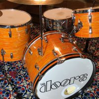 John Densmore The Doors Ludwig Mod Orange