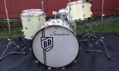 Buddy Rich Slingerland White Marine Pearl