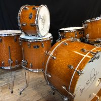 Bun E. Carlos Limited Edition 2009 Ludwig Anniversary Exotic Lacewood Set