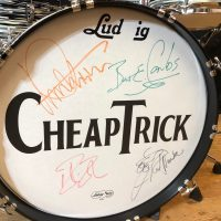 Cheap Trick Sgt. Peppers Ludwig Maple Classic Bun E. Carlos Drum set