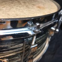 Ludwig Black oyster pearl Ringo Jazz festival 5.5 Beatle snare drum