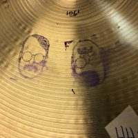 Bun E cymbal hi hat 12 + 13