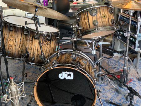 Billy Ward's DW Signature Jazz Series set