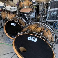 Billy Ward's DW Signature Jazz Series set