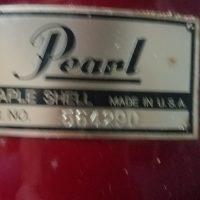Tico Torres Bon Jovi Pearl Maple Slippery When Wet drum set