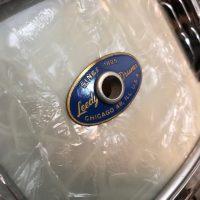Leedy White Marine Pearl 5x14