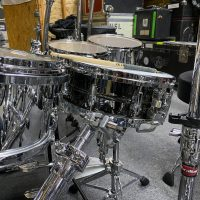 Bryan Hitt REO Speedwagon Ludwig Legacy Classic Maple Tour drum set