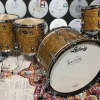 "Bun E. Carlos Cheap Trick Ludwig Legacy Large Classic Lug Signature Drum Set With Extra 14"" Tom"