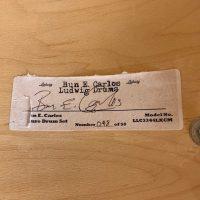 "Bun E. Carlos Ludwig Signature Set with 14"" Floor tom"