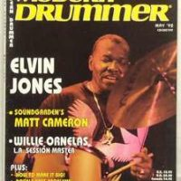Elvin Modern Drummer tama Crestar