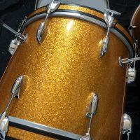 Gretsch 6 ply Round Gretsch 1960s Round Badge 18 bass! 12,14,16. Pro Restoration.