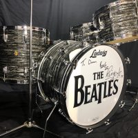 Ringo 1963 Beatle Ludwig Black Oyser Super Classic