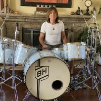 Bryan Hitt's REO Speedwagon 19 Slingerland Radio King World Tour Drum Set.
