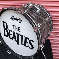 Ringo Beatles 22x14 Black Oyster Bass drum