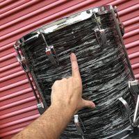 Ringo Oyster Black Pearl Floor Tom