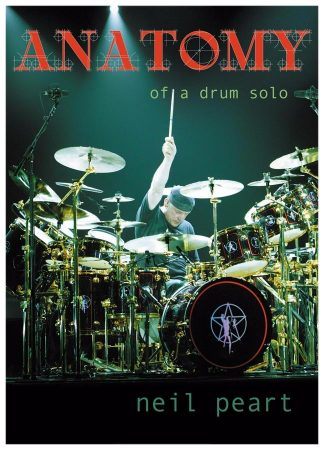 Neil Peart Hand Signed Anatomy Of A Drum Solo Poster
